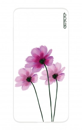 Cover HUAWEI P30 PRO - Flowers on white