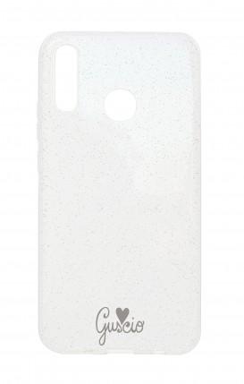 Cover Glitter Soft Huawei P20Lite - Guscio With Love