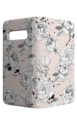 Case STAND VStyle Samsung S10e - Peonias