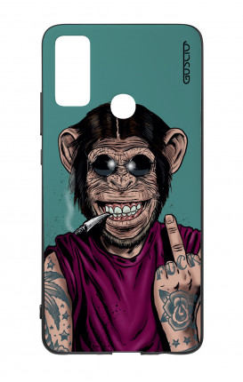 Huawei P Smart 2020 Two-Component Cover - Monkey's always Happy