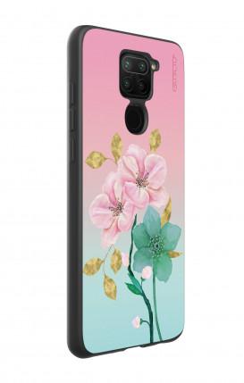 Cover GLITTER Liquid Apple iPhone XS MAX GOLD - Palloncini cuori
