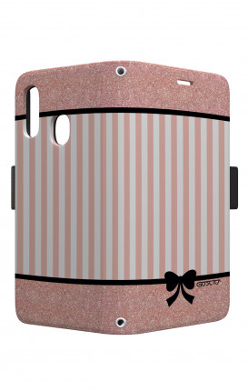 Case STAND VStyle EARS Samsung A40 - Romantic pink
