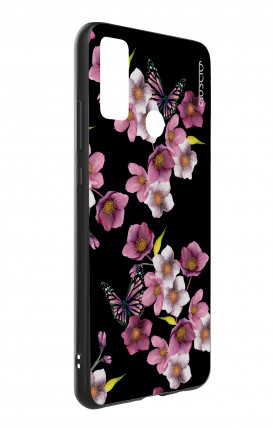Apple iPhone XR Two-Component Cover - Black and white graffiti