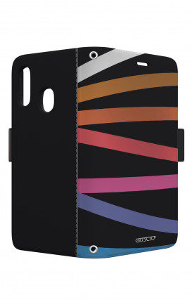 Cover STAND VStyle EARS Samsung A40 - Astratto nastri