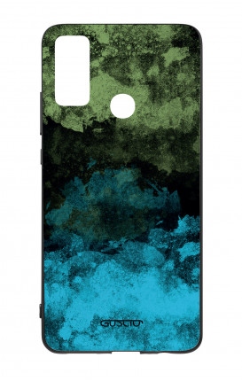 Cover Bicomponente Huawei P Smart 2020 - Mineral BlackLime