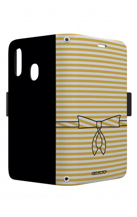 Cover STAND VStyle EARS Samsung A40 - Yellow Break