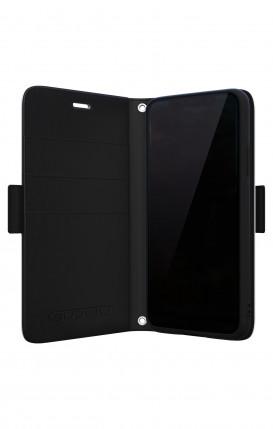 Cover Bicomponente Samsung A50 - Scritte in bianco e nero