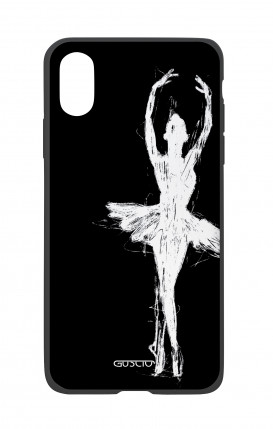 Apple iPhone X White Two-Component Cover - Dancer
