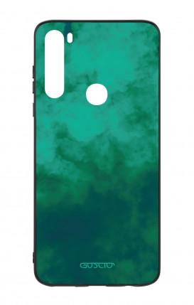 Case Samsung M20 - Flowers on white