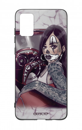 Cover Bicomponente Samsung A41 - Pin Up Chicana in auto