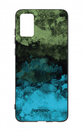 Cover Bicomponente Samsung A41 - Mineral BlackLime