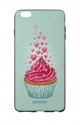 Apple iPhone 6 WHT Two-Component Cover - Cupcake in Love
