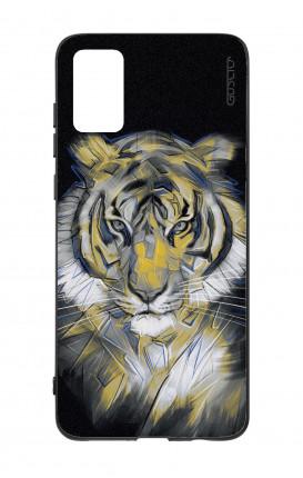 Cover Bicomponente Samsung A41 - Tigre neon