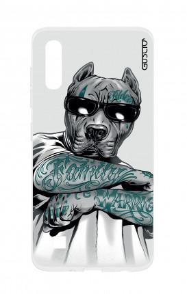 Cover TPU Sam A10 - Pitbull tatuato