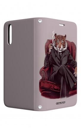 Case STAND Huawei P20 - Elegant Tiger