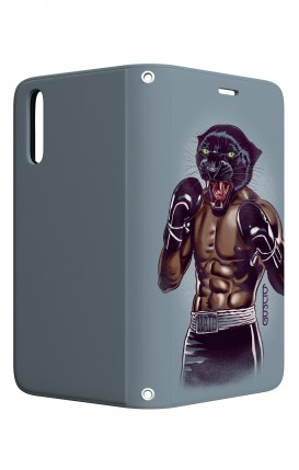 Case STAND Huawei P20 - Boxing Panther