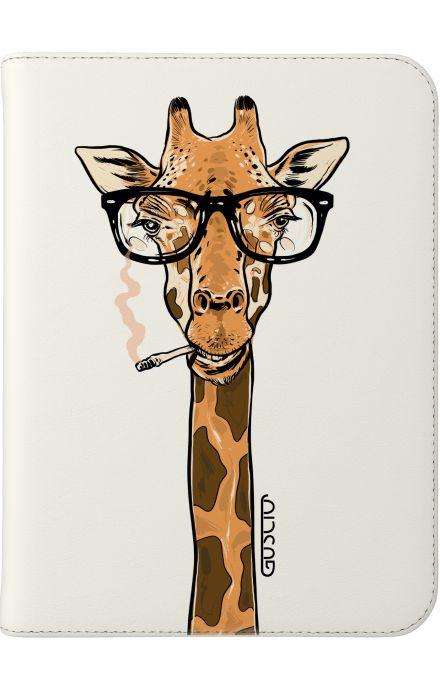 "Case UNV TABLET 7-8"" - Eyeglass giraffe white"