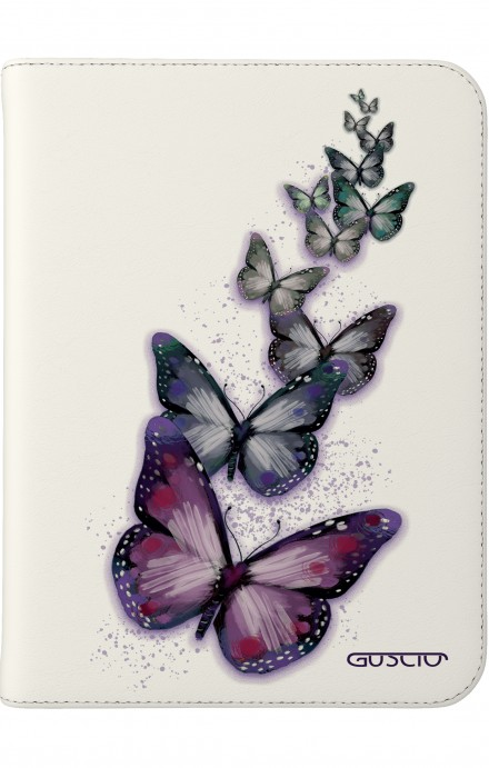 """Cover Universal Tablet Case per 7/8"""" display - Volo di farfalle"""