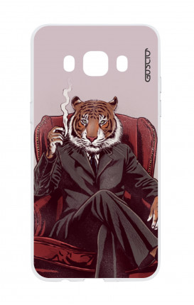 Cover TPU Samsung Galaxy J3 2016 - Tigre elegante