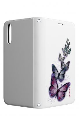 Cover STAND Huawei P20 - Volo di farfalle