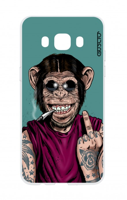 Cover TPU Samsung Galaxy J5 2016 - Scimmia felice