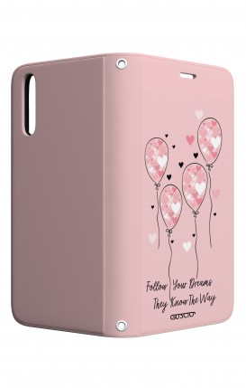Cover STAND Huawei P20 - Palloncini rosa