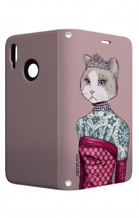 Cover STAND Huawei P20 Lite - Gattina principessa