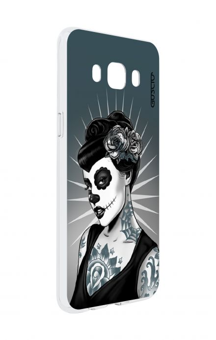 Cover Samsung Galaxy J5 2016 - Calavera Grey Shades