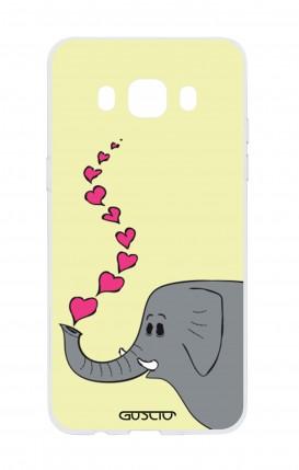 Cover Samsung Galaxy J5 2016 - Elefante innamorato