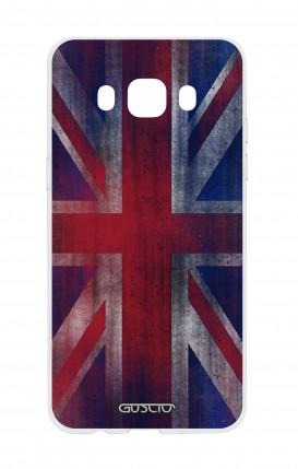 Cover Samsung Galaxy J5 2016 - Bandiera inglese vintage