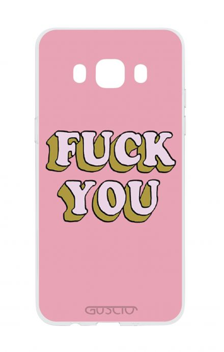 Cover Samsung Galaxy J5 2016 - Fuck You