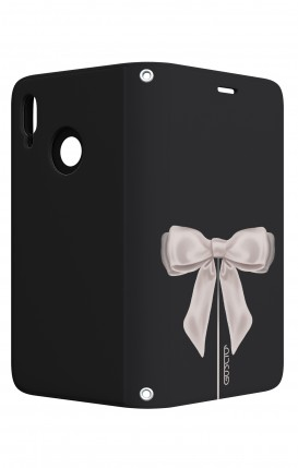 Case STAND Huawei P20 Lite - Satin White Ribbon