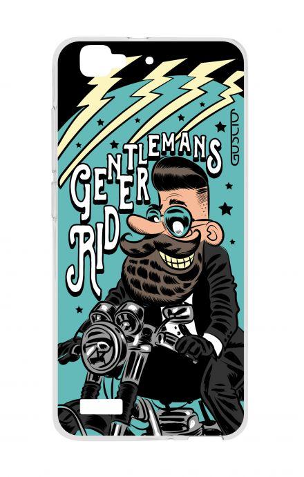 Cover Huawei P8 Lite SMART - Gentlemans Rider