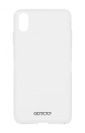Cover Crystal TPU Apple iphone X/XS - Logo