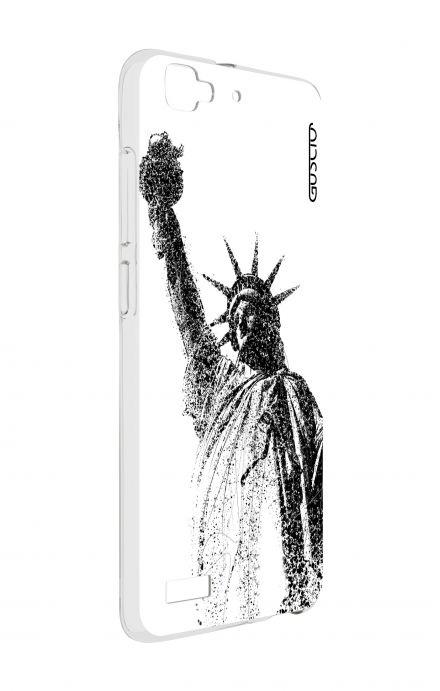 Cover Huawei P8 Lite SMART - Statue of Liberty