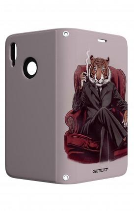 Case STAND Huawei P20 Lite - Elegant Tiger