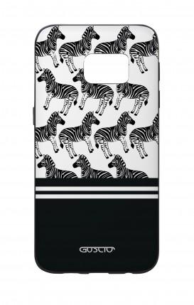 Cover Bicomponente Samsung S7 - Zebre bianconere