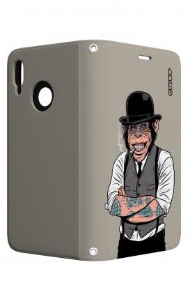 Case STAND Huawei P20 Lite - Derby Monkey