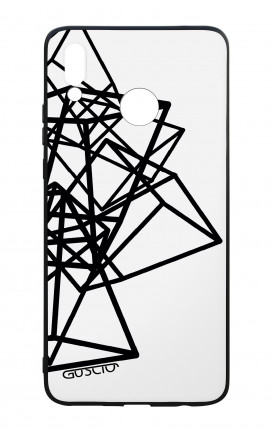 Huawei P Smart Plus WHT Two-Component Cover - Geometric shapes