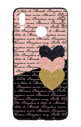Huawei P Smart Plus WHT Two-Component Cover - Hearts on words