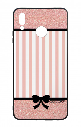 Cover Bicomponente Huawei P Smart PLUS - Rosa romantico