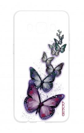 Cover TPU Samsung Galaxy J5 2016 - Volo di farfalle