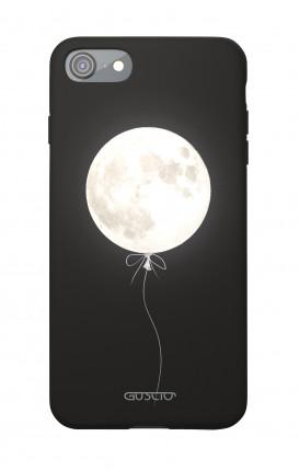 Soft Touch Case Apple iPhone 7/8/SE - Moon Balloon