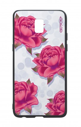 Samsung J5 2017 White Two-Component Cover - Rose pattern