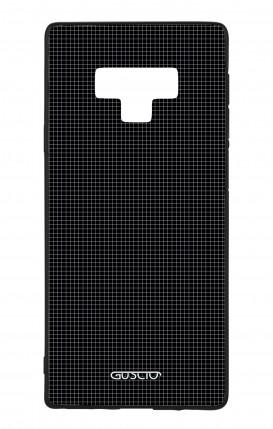 Samsung Note 9 WHT Two-Component Cover - Small Checks