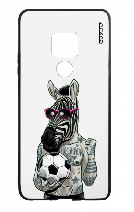 Huawei Mate20 WHT Two-Component Cover - WHT Zebra