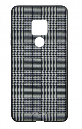 Huawei Mate20 WHT Two-Component Cover - Glen plaid
