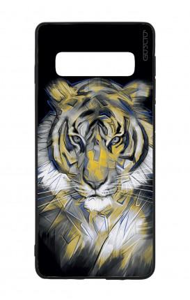 Samsung S10e Lite WHT Two-Component Cover - Neon Tiger