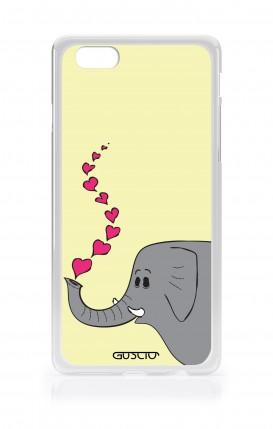 Cover Apple iPhone 7/8 - Elefante innamorato