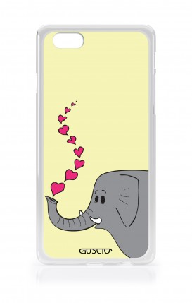 Cover Apple iPhone 7/8 - Elephant in Love